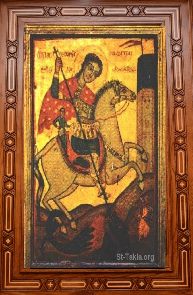 Framed St George Icon