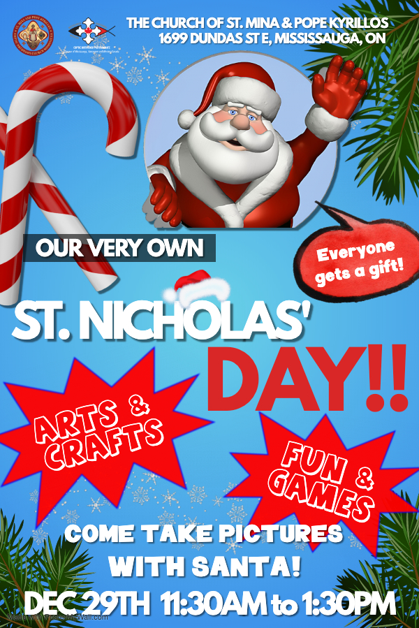 poster for St. Nicholas's Day