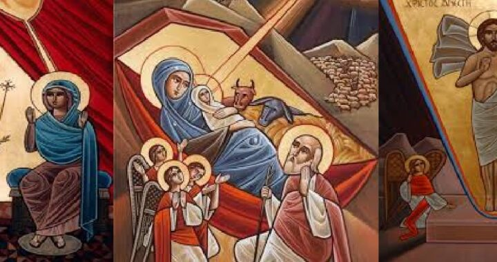 The Three Major Feasts Icons