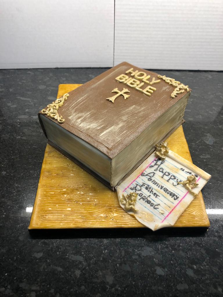 Ordination Anniversary Cake