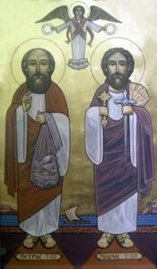 The Feast of the Pure Apostles, The Martyrdom of St. Peter and St. Paul.